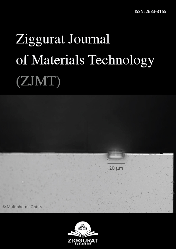 The Ziggurat Journal of Materials Technology (ISSN 2633-3155 online)